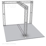 Michael - 10 Ft X 10 Ft TK8 Aluminum Box Truss Booth