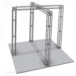 Aiden 10 - 10 Ft X 10 Ft TK8 Aluminum Box Truss Booth