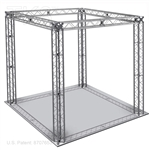 Jacob 10 - 10 Ft X 10 Ft TK8 Aluminum Box Truss Booth