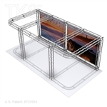 Douglas with graphics - 10 X 20 TK8 Aluminum Box Truss Booth