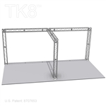 Alexander - 10 Ft X 20 Ft TK8 Aluminum Box Truss Booth