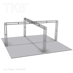 Daniel - 20 Ft X 20 Ft TK8 Aluminum Box Truss Booth