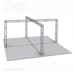 Daniel 10 - 20 Ft X 20 Ft TK8 Aluminum Box Truss Booth