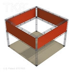 Lucas - 20 Ft X 20 Ft TK8 Aluminum Box Truss Booth