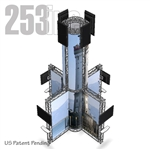TK8 Aluminum Truss Media Tower
