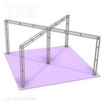 Andrew 10 - 26Ft X 26Ft TK8 Aluminum Box Truss Booth