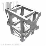 THREE WAY T-SHAPE ALUMINUM BOX TRUSS
