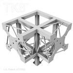 THREE WAY ALUMINUM BOX TRUSS