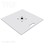 SQUARE BASE PLATE, 29 INCH