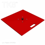SQUARE BASE PLATE, 35 1/2 INCH