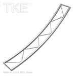 TKExpress 51 inch Radius 45 Degree Section