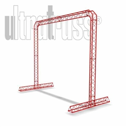 Breast - 15 ft by 13 ft Ultratruss Triangle Truss Arch with Base