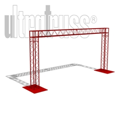 Osaka - 15 ft by 7 ft Ultratruss Box Truss Arch