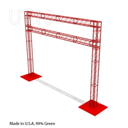 Providence - 14 ft by 18 ft Ultratruss Box Truss Arch