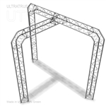 Isabella - 10 Ft X 10 Ft Triangle Truss Booth