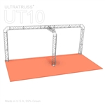 Olivia - 10 Ft X 20 Ft Triangle Truss Booth