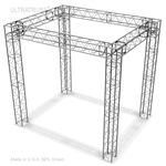 AMBER - 10FT X 8FT X 10FT HIGH BOX TRUSS DISPLAY BOOTH