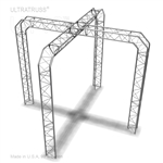 Natalie - 10 Ft X 10 Ft Triangle Truss Booth