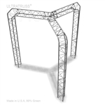 Samantha - 10 Ft X 10 Ft Triangle Truss Booth
