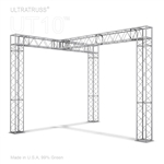 VANESSA - 10FT X 10FT BOX TRUSS DISPLAY BOOTH