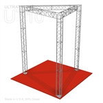Alma - 10 Ft X 10 Ft Triangle Truss Booth
