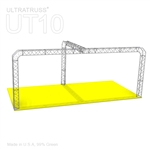 Charlotte - 20Ft X 10 Ft Triangle Truss Booth