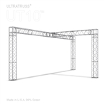 NORA - 10FT X 20FT BOX TRUSS DISPLAY BOOTH