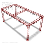 SCARLETT - 10FT X 20FT TRIANGLE TRUSS BOOTH