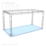 Leah - 20Ft X 10 Ft Triangle Truss Booth