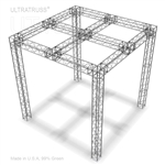 UT10B-121212SB - 12FT X 12FT ULTRATRUSS BOX TRUSS DISPLAY BOOTH