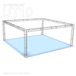 Alyssa - 20 Ft X 20 Ft Triangle Truss Booth