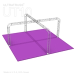 Sarah - 20 Ft X 20 Ft Triangle Truss Booth