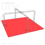 Savannah - 20 Ft X 20 Ft Triangle Truss Booth