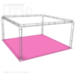 Audrey - 20 Ft X 20 Ft Triangle Truss Booth