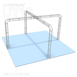 Taylor - 20 Ft X 20 Ft Triangle Truss Booth