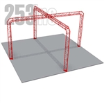 Brianna - 20 Ft X 20 Ft Triangle Truss Booth