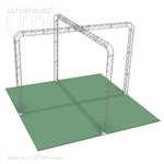 Andrea - 20 Ft X 20 Ft Triangle Truss Booth