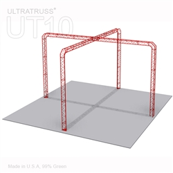 Camila - 25Ft X 25Ft Triangle Truss Booth