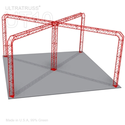 Khloe - 27Ft X 27Ft Triangle Truss Booth
