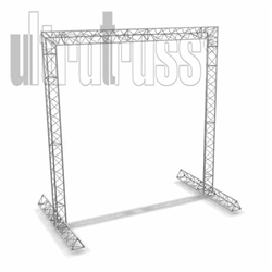 Carlsbad  - 12 ft by 12 ft by 9 ft deep Aluminum Ultratruss Triangle Truss Arch