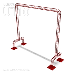 UT10 ARCH 19FT WIDE BY 17FT TALL, TRIANGULAR ALUMINUM TRUSS ARCH