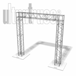 Buffalo - 8 ft by 8 ft Ultratruss Box Truss Arch
