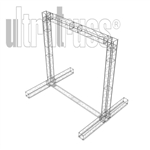 Cape Cod - 12 ft by 12 ft by 9 ft deep Aluminum Ultratruss Box Truss Arch