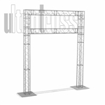 Sound - 14 ft by 10 ft  Aluminum Ultratruss Box Truss Arch