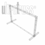 Chicago - 25 ft by 25 ft by 9 ft deep Aluminum Ultratruss Box Truss Arch