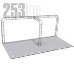 Emma - 10 Ft X 20 Ft Triangle Aluminum Truss Booth