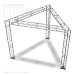 Abby - 10 Ft X 10 Ft Triangle Aluminum Truss Booth