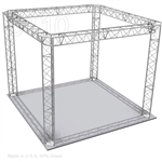 Madison - 10 Ft X 10 Ft Triangle Aluminum Truss Booth
