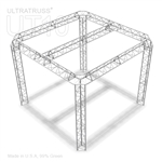 Marie -10 ft x10 ft triangle aluminum truss booth