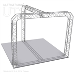 Chloe - 10 Ft X 10 Ft Triangle Aluminum Truss Booth
